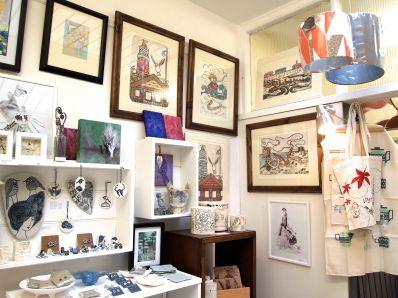 Inside Hazel Gallery